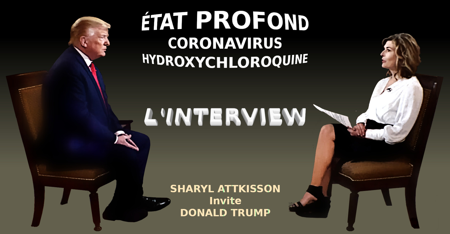 Interview de Donald Trump avec Sharyl Attkisson