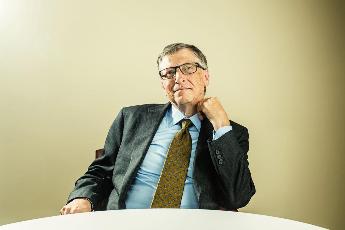Microsoft Co Founder And Philanthropist Bill Gates