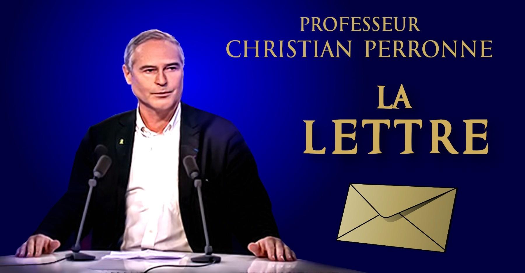 La Lettre Du Professeur Christian Perronne