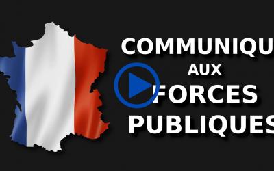 STAN MAILLAUD: COMMUNIQUÉ AUX FORCES PUBLIQUES