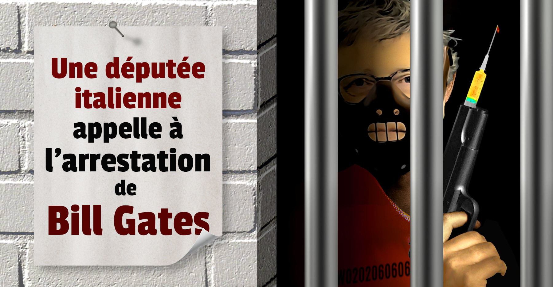 Arrestation de Bill Gates