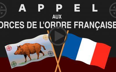 APPEL AUX FORCES DE L'ORDRE