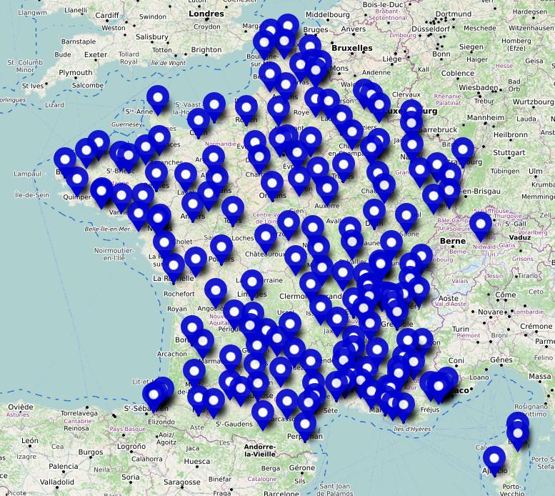 Liste des manifestations en France, le 31 juillet 2021