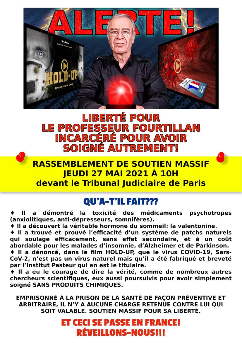 RASSEMBLEMENT DE SOUTIEN MASSIF JEUDI 27 MAI 2021 À 10H DEVANT LE TRIBUNAL JUDICIAIRE DE PARIS.