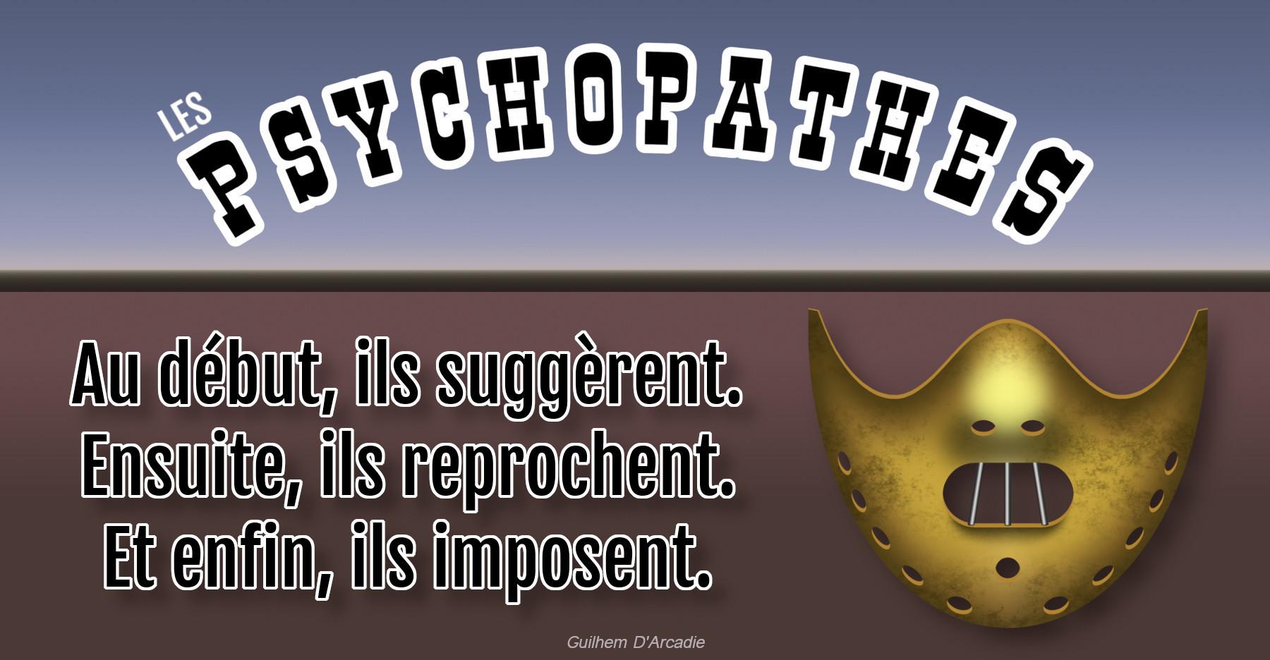 Les tactiques des psychopathes