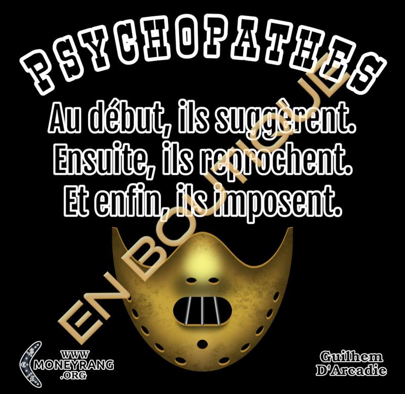 Tshirt-Psychopathes