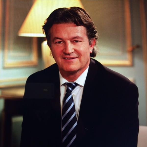 Richard Boutry, journaliste.