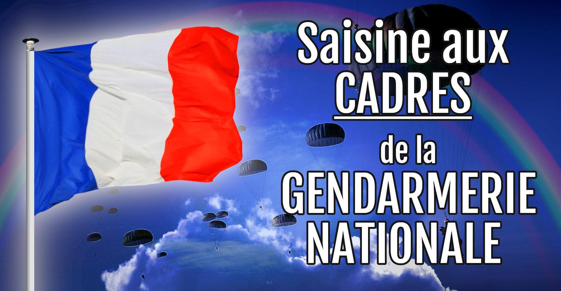 Message De Saisine Aux Cadres De La Gendarmerie Nationale