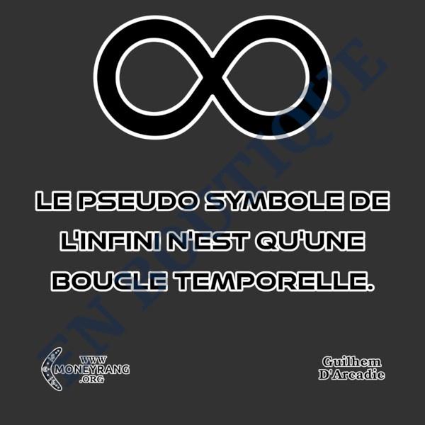 Le Pseudo Symbole De L'infini Est Une Boucle Temporelle.
