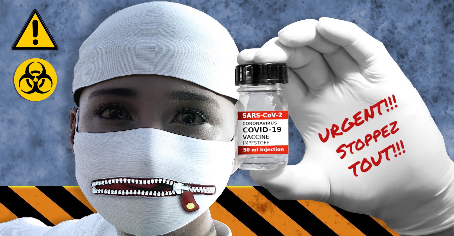 URGENT!!! Stoppez les vaccins!!!