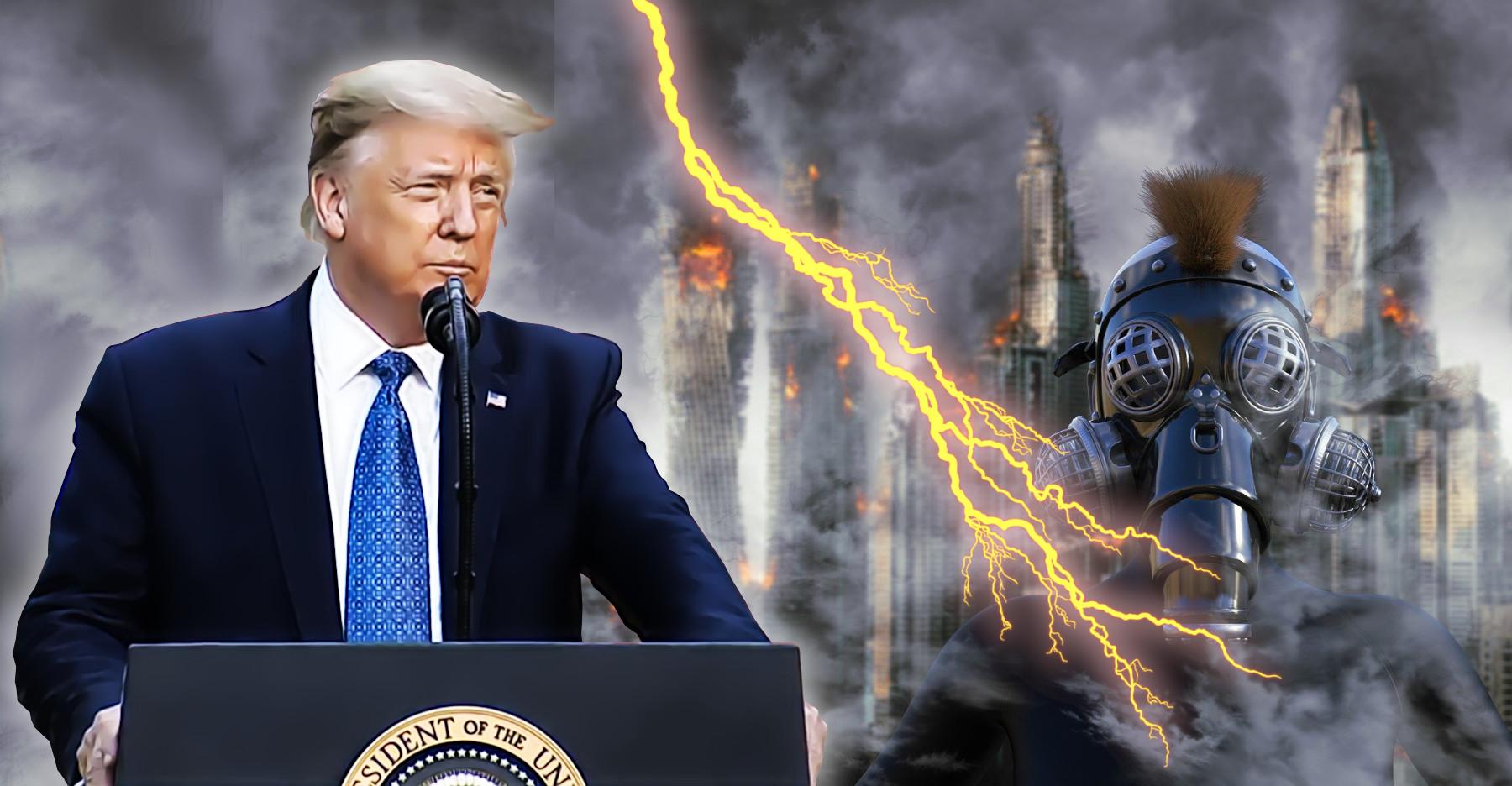 """Donald Trump: """"Pour Mettre Fin à La Violence"""""""