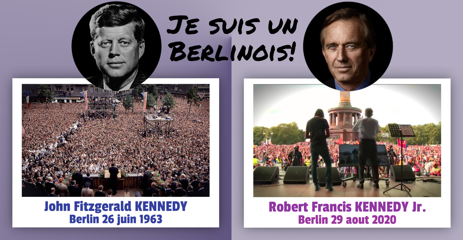 Robert Francis Kennedy Jr. à Berlin Le 29 Aout 2020