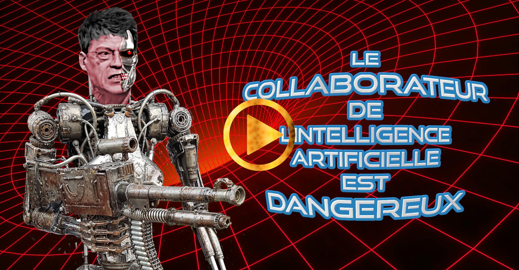 Le collaborateur de l'IA est dangereux.