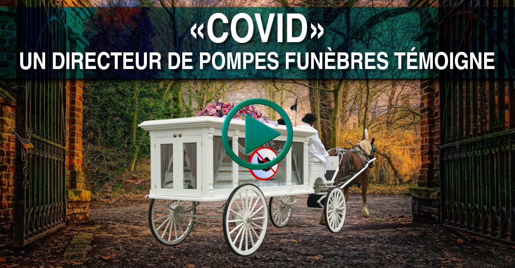COVID & TUEURS EN SÉRIE, LE TÉMOIGNAGE D'UN CROQUE-MORT.